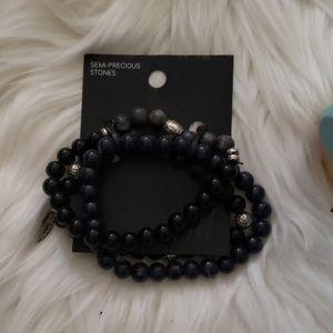H&M Premium Black Braclet